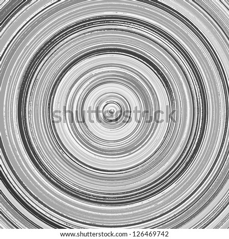 Gray abstract vector background - stock vector