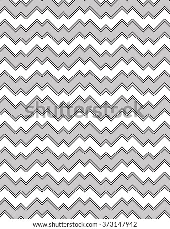 Gray and black line pattern over white background - stock vector