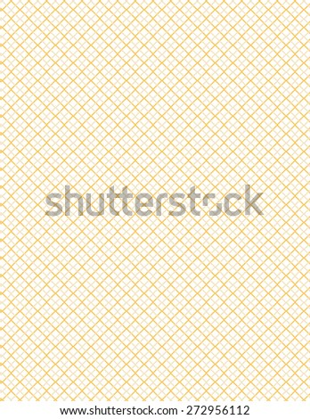 Gray and orange line pattern over white background - stock vector