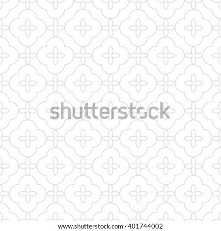Gray and white geometric seamless pattern, abstract background. - stock vector