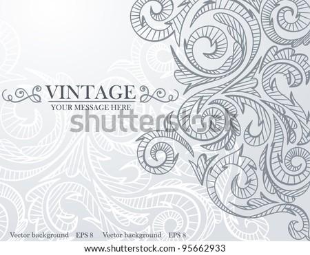 Gray background pattern. Vector. Eps 8. - stock vector