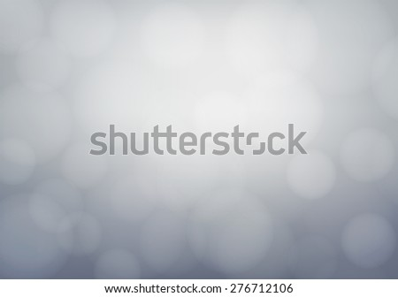 Gray background with defocused lights - Vector - stock vector
