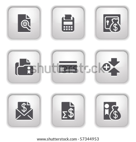Gray button for internet 14