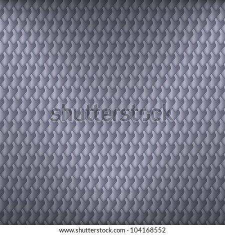 Gray carbon seamless pattern with fish scales symbol, vector, 10eps.