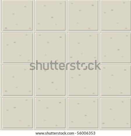 gray ceramics seamless pattern, abstract texture; vector art illustration - stock vector