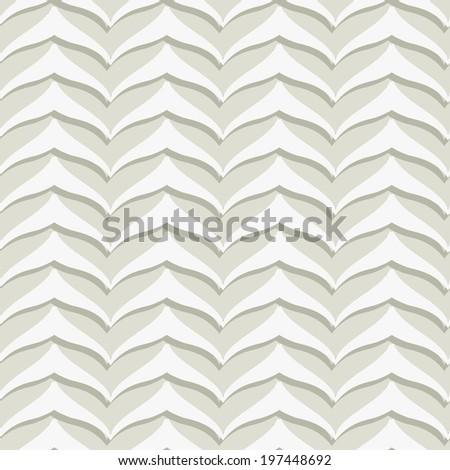 Gray Embossed Seamless Pattern - stock vector