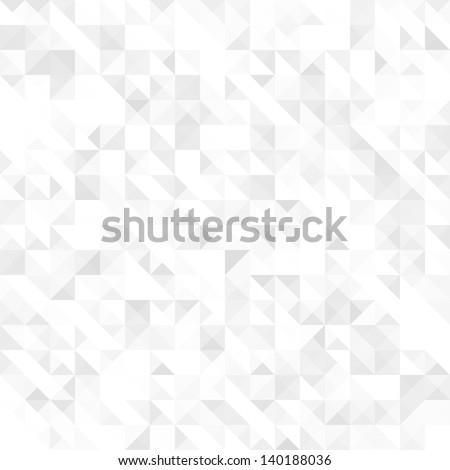 Gray geometric texture, seamless - stock vector