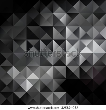 Gray Grid Mosaic Background, Creative Design Templates