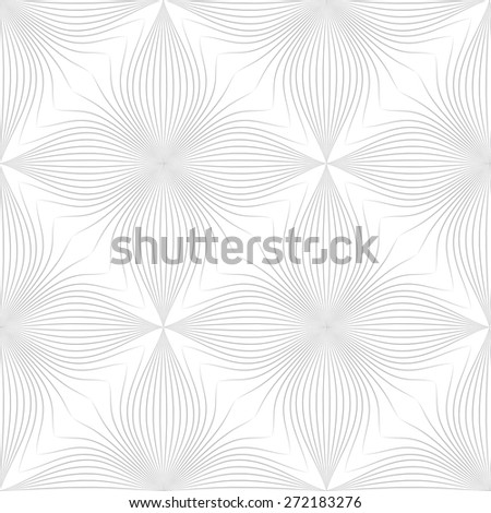 gray line graphic pattern abstract vector background. Modern stylish texture. - stock vector