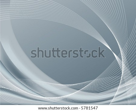 Gray or silver background, perfect for templates; contains gradient meshes only editable in Adobe Illustrator - stock vector