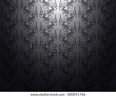 Gray pattern vintage retro texture shadow light  background abstract