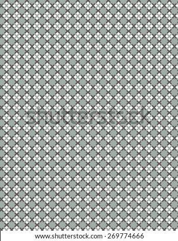 Gray squares with gray line pattern over white background - stock vector