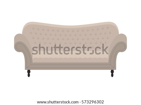 Brilliant White Vintage Couch Sofa Icon Of Fashion Elegance And Design Inspiration