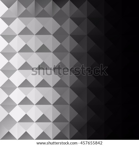 Gray White Grid Mosaic Background, Creative Design Templates