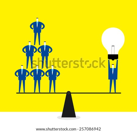 Great creativity - stock vector