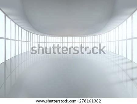 Great hall. Vector illustration. - stock vector
