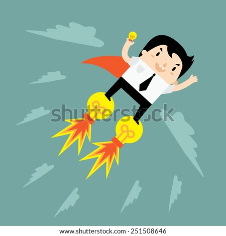 Great Idea For Success - stock vector