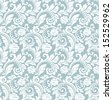 Great ornamental floral pattern. A seamless vector background. - stock