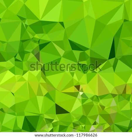 Green Abstract background - stock vector