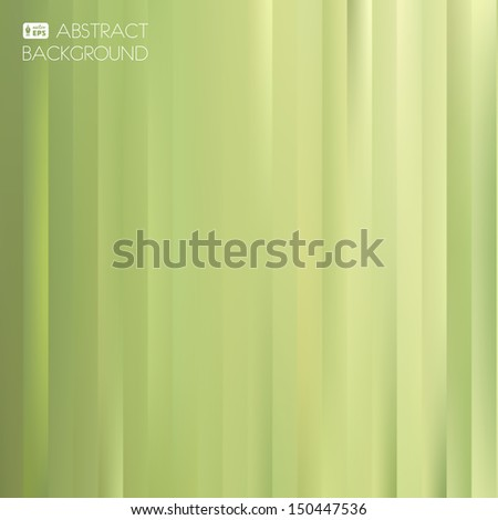 Green Abstract Striped Background. Vector Illustration.
