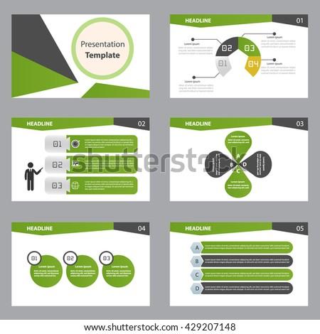 green presentation template
