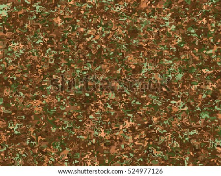 green and brown camouflage vector background