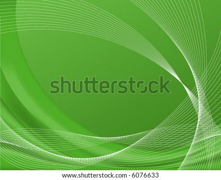 Green background complete with wire frames, perfect for templates; contains gradient meshes only editable in Adobe Illustrator - stock vector