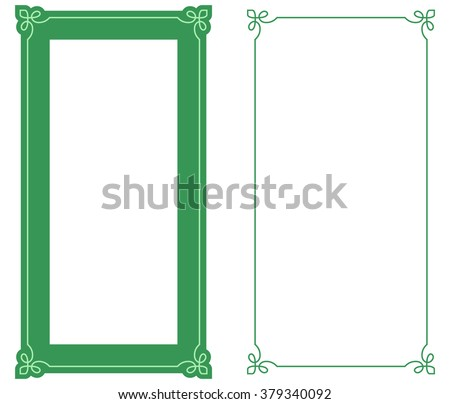 green border stock images royalty free images vectors shutterstock. Black Bedroom Furniture Sets. Home Design Ideas