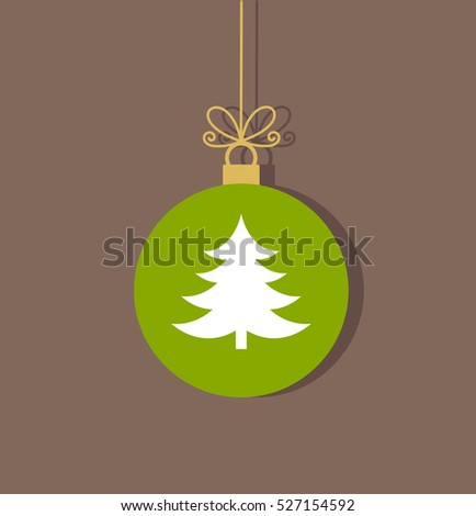 Christmas Tree Ball Ornament Stock Images Royalty Free