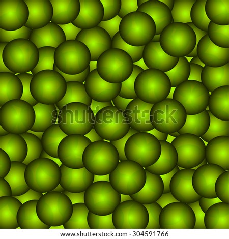 green circle background vector eps.10