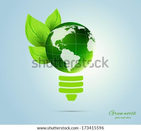 Green concept - stock vector