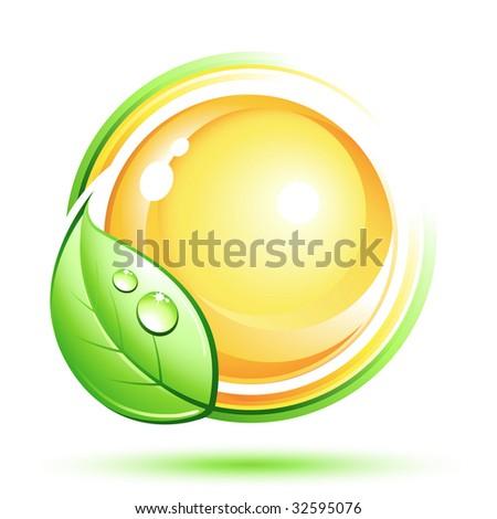 Green design - stock vector