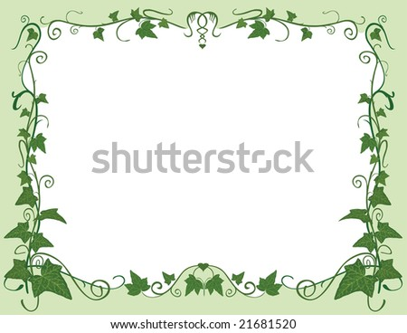 green design frame
