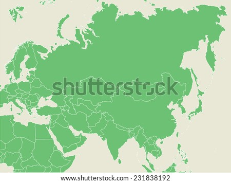 Green asia map country borders vectores en stock 36253789 shutterstock green earth map with countries borders gumiabroncs Choice Image