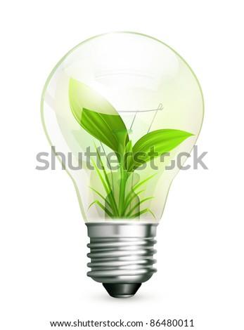 Green Energy, 10eps - stock vector