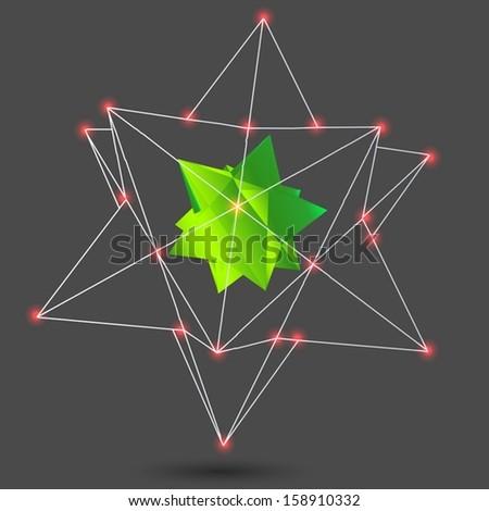 abstract geometric octagon shape - photo #23