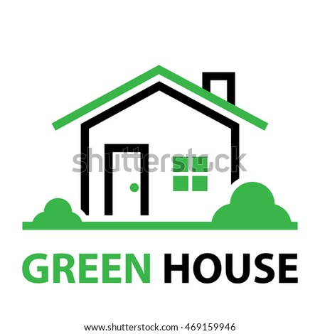 green house,home icon