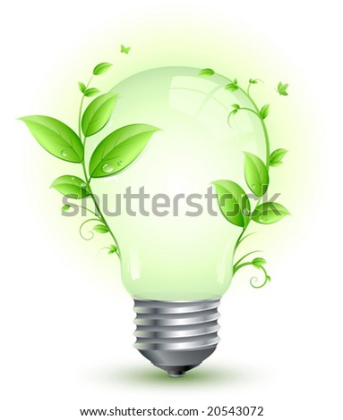 Green light - stock vector