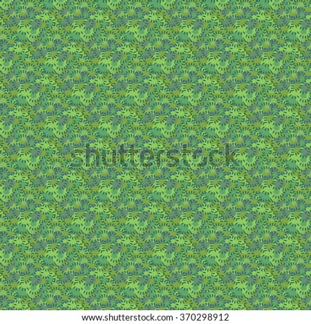 Green pattern vector background