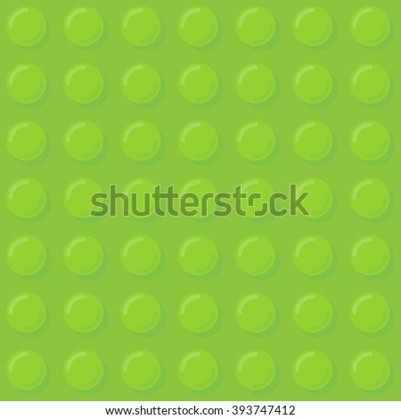 Green plastic bubbles seamless pattern. Vector illustration