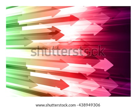 green red pink abstract light hi speed internet technology illustration, Background conceptual image of digital. Cyber security concept, Cyber data digital. scan virus computer. vector - stock vector