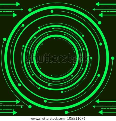 Green Technology. Jpeg Version Also Available In Gallery. - stock vector