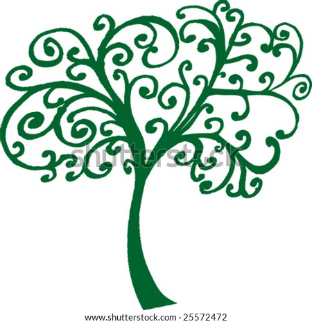 Green tree-vector