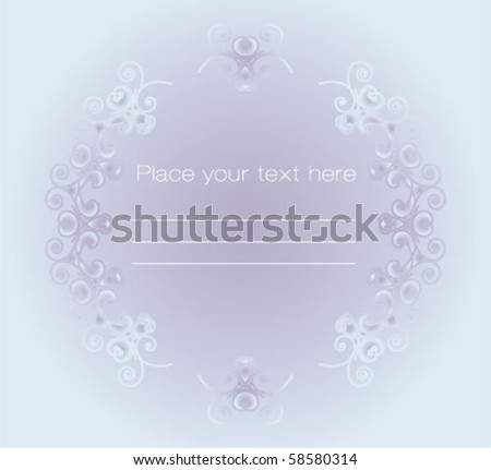 Greeting and invitation cards - stock vector