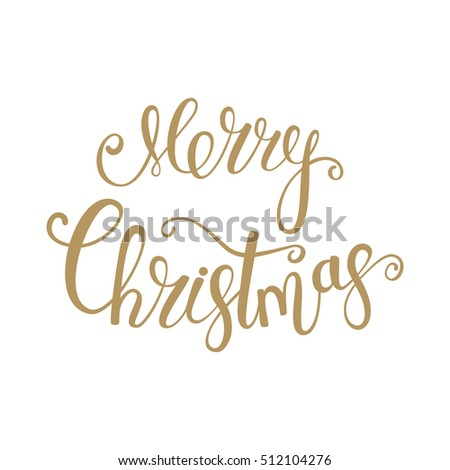 Greeting card. Merry Christmas. Holiday background. Typography Design. Vector illustration.