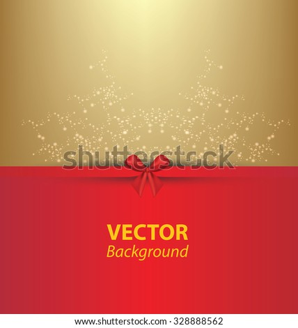 Greeting card template. Vector illustration.