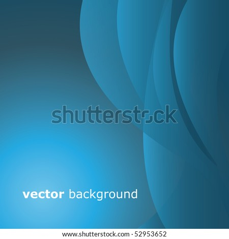 Greeting Card with Abstract Background
