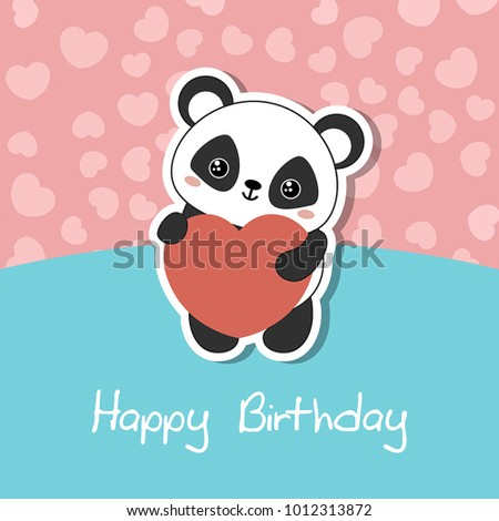 Greeting Cards Valentines Day Birthday Mothers Stock Vector Hd