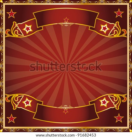 greeting circus. a background for a greeting card.