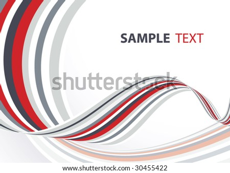 Grey and red abstract background. Vector